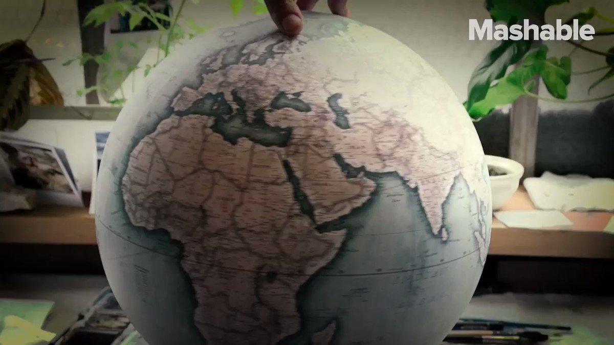 The art of globe making hasn't quite died yet https://t.co/mV2lyT8l6h