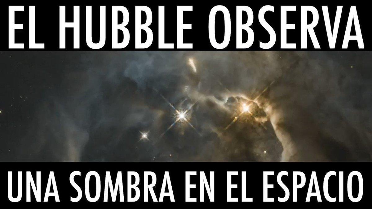 En 2017, el Hubble vio una enorme sombra en forma de alas de murciélago proyectada por el disco de formación de planetas de una estrella joven. Ahora, tras observar la sombra de nuevo, ¡unos astrónomos la han visto aletear! ⭐🦇 👉 go.nasa.gov/31mDDMJ