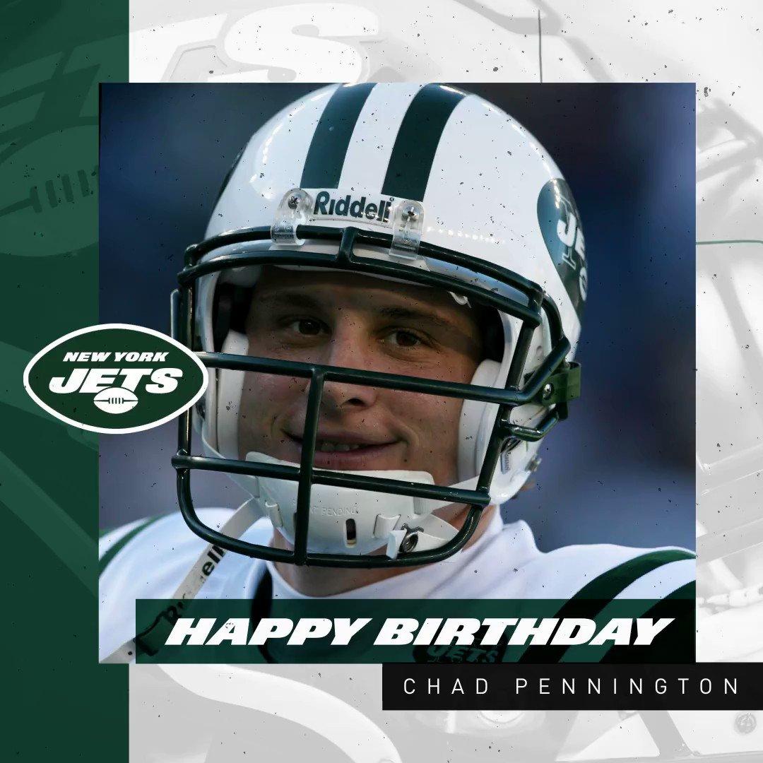 Make it a good one, @ChadPennington! 🎉
