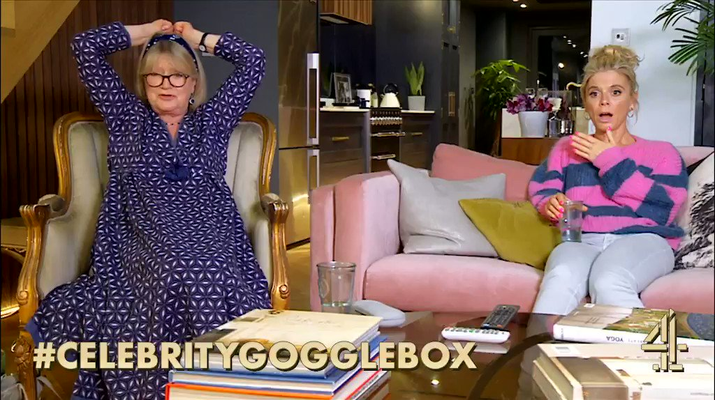 When you can't deal with nature programmes… #HostilePlanet #CelebrityGogglebox