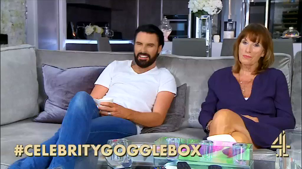 When your mum bad mouths This Morning… @Rylan #ThisMorning #CelebrityGogglebox