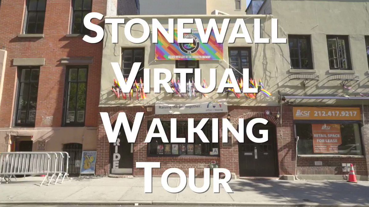 .@StonewallNPS celebrates its 5th anniversary today 🏳️🌈 Take our virtual tour through the places in NYC that paved the way for the Stonewall uprising -- and eventually the designation of our first national park site dedicated to LGBTQ history. #Pride https://t.co/5THyJlRiUk https://t.co/ViZTnwgRfw