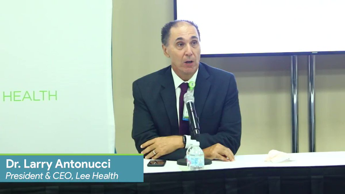 Great work being done by the folks @Lee_Health and CEO Dr. Larry Antonucci.