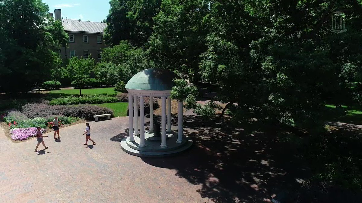 Nothing could be finer than summertime at Carolina. This one's for you if you miss #UNC's beautiful campus as much as we do 💙 https://t.co/Eo7XOhiVjB