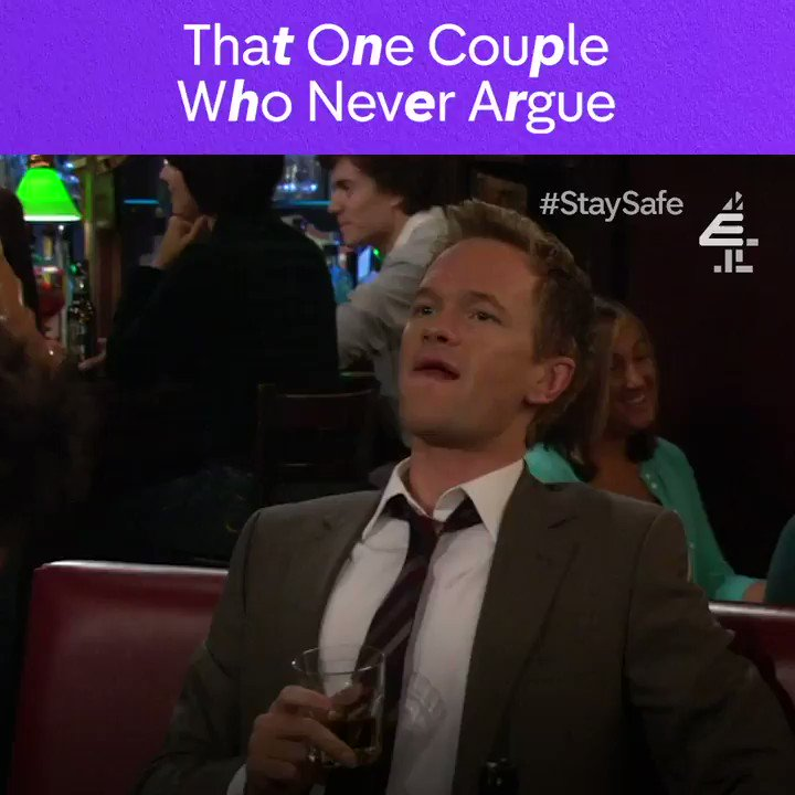 Take your perfect relationship elsewhere. @JoshRadnor @ActuallyNPH @jasonsegel @CobieSmulders #HIMYM
