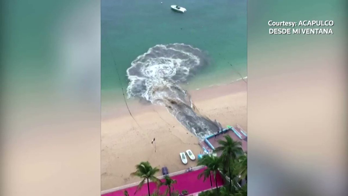 Wastewater runoff sparks contamination fears in Mexico's iconic Acapulco bay https://t.co/V44O03r2sT