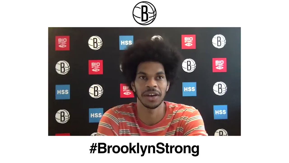 🗣 @_bigjayy_ on the Nets depth at center heading to Orlando: There is some pressure for me to stay healthy and help the team succeed. Watch Jarretts full media session from earlier today 🎥