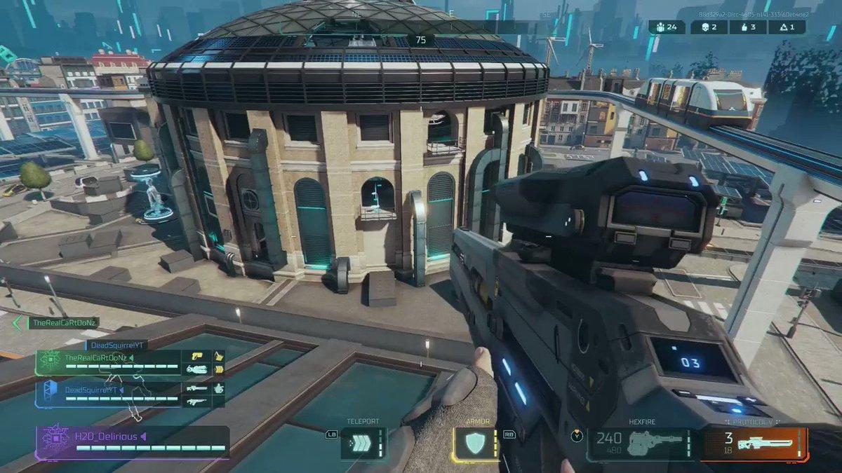 I think I really enjoyed the sniper LOL #HyperScape