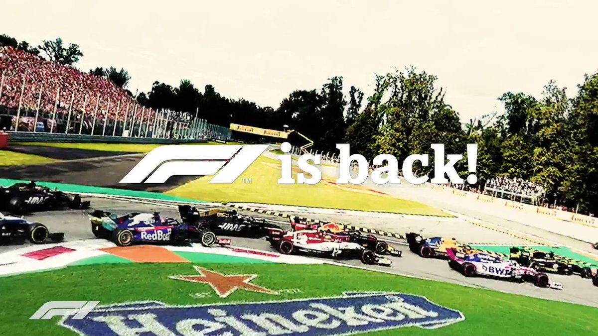 Image for the Tweet beginning: Kicking off the @F1 x