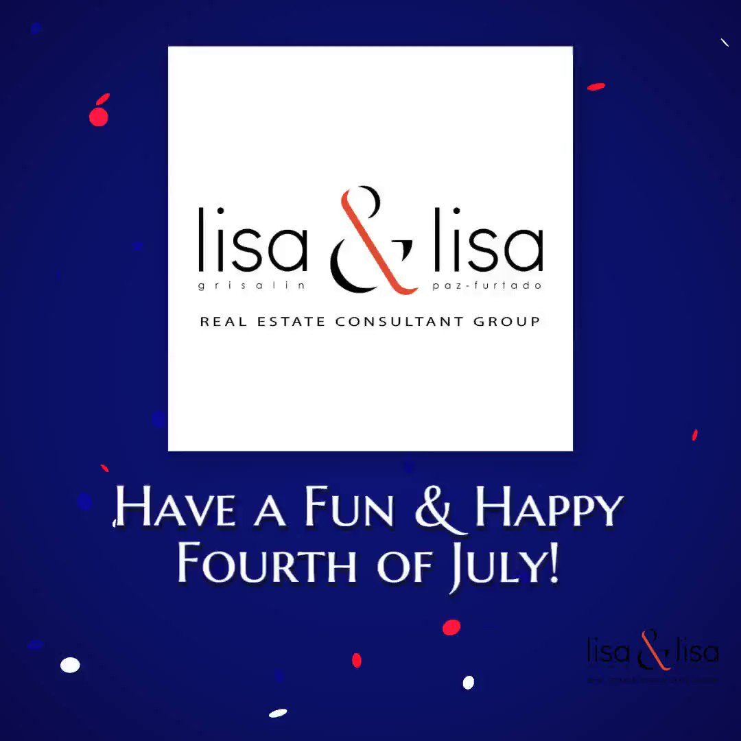 Looking for a few ways to #celebrate the #FourthofJuly at home? We've got you covered! Have a great #holiday weekend!   #lisaandlisaweekender #lisa2homes #bayarearealtor #bayarearealestate #lisapazfurtado #lisagrisalinpic.twitter.com/oIpu1lrkNb