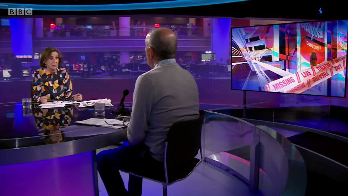 Unless there is a substantial rescue package we are looking at waves of insolvencies. We are looking at the whole cultural ecosystem breaking down. This is not just theatres. - a stark warning from Nicholas Hytner, former artistic director of the National Theatre. #Newsnight