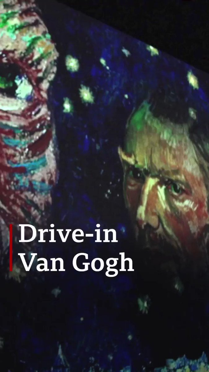 A Van Gogh at the drive-through? 🚗 🌻 Torontos immersive exhibition allows you to experience art - and maintain social distancing - from the comfort of your car.