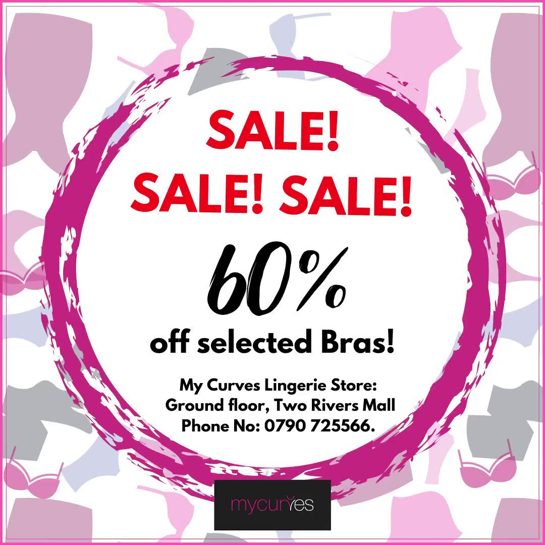 My Curves has a huge sale on selected bras. Visit them today on ground floor and enjoy up to 60% off🛍🛍  #ILoveMyCurves https://t.co/eAjvLVdXug