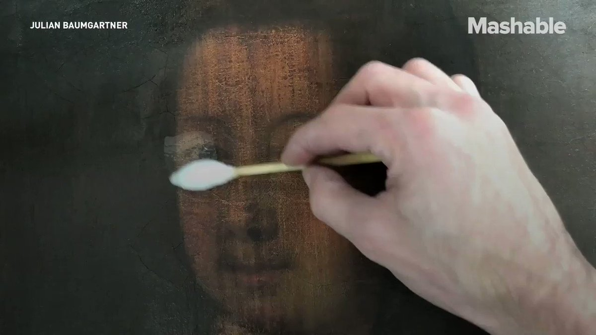 This guy breathes new life into these old damaged paintings https://t.co/JTD8FBEM1u