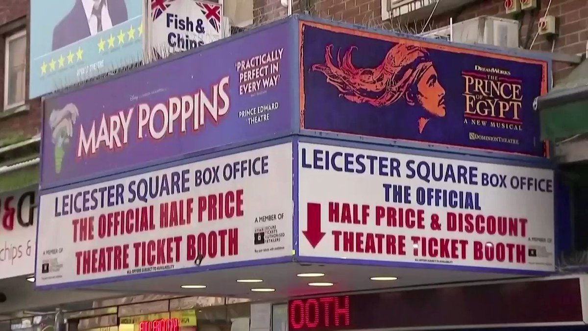 WATCH: Britain will invest nearly $2 billion in the arts and hopes to allow outdoor and socially distanced performances at cultural venues, as it tries to help the high-profile sector hit hard by the lockdown https://t.co/1aVPssJQn2 https://t.co/SGzGr2rrz5