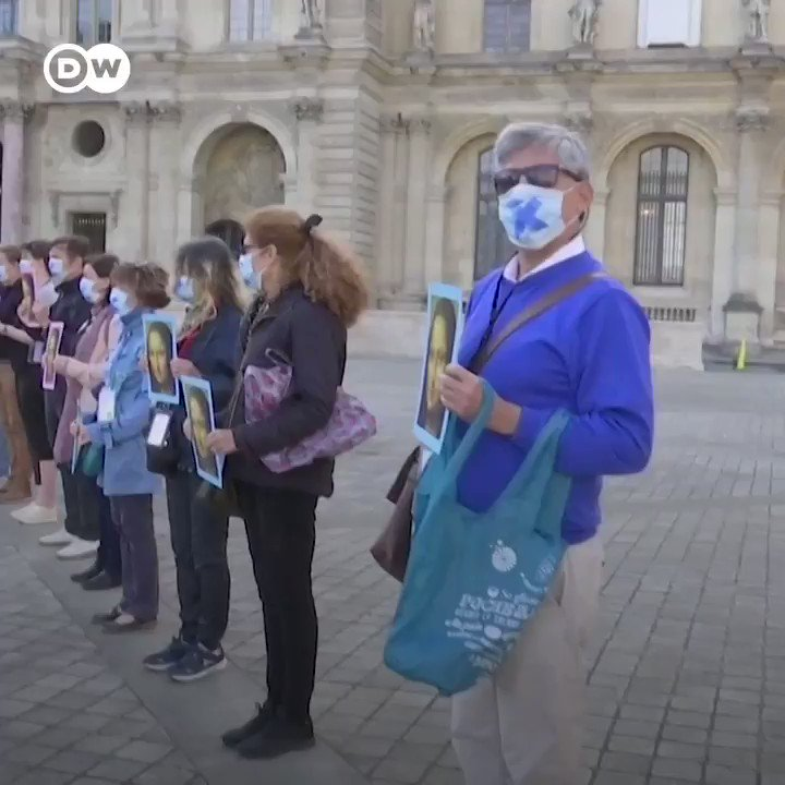 The Louvre has reopened in Paris, four months after the coronavirus pandemic forced the worlds most visited museum to shut its doors. But not everyone is celebrating.