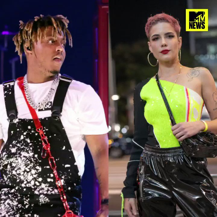 Halsey has paid tribute to the late Juice WRLD following the release of their collab #LifesAMess ❤️