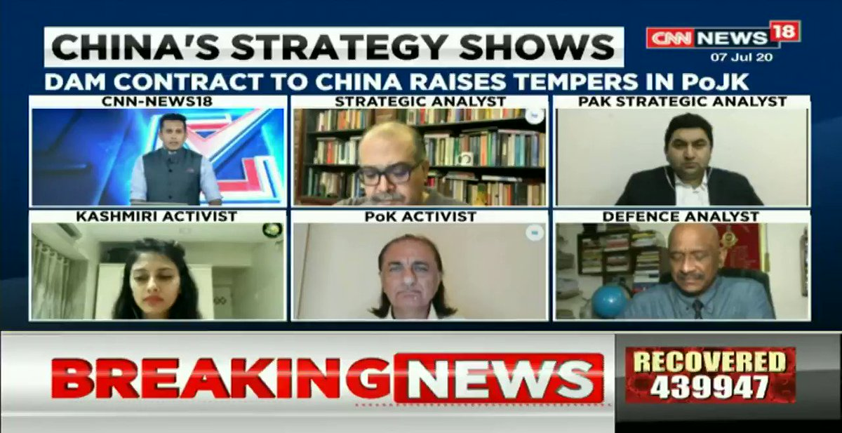 #ExpansionistChina – Who has given authority to a third party (China) to make an investment in a disputed territory, @AmjadAyubMirza1 (Pok Political Activist), tells @AnchorAnandN on #TheRightStand. https://t.co/DTNnSSg0FN