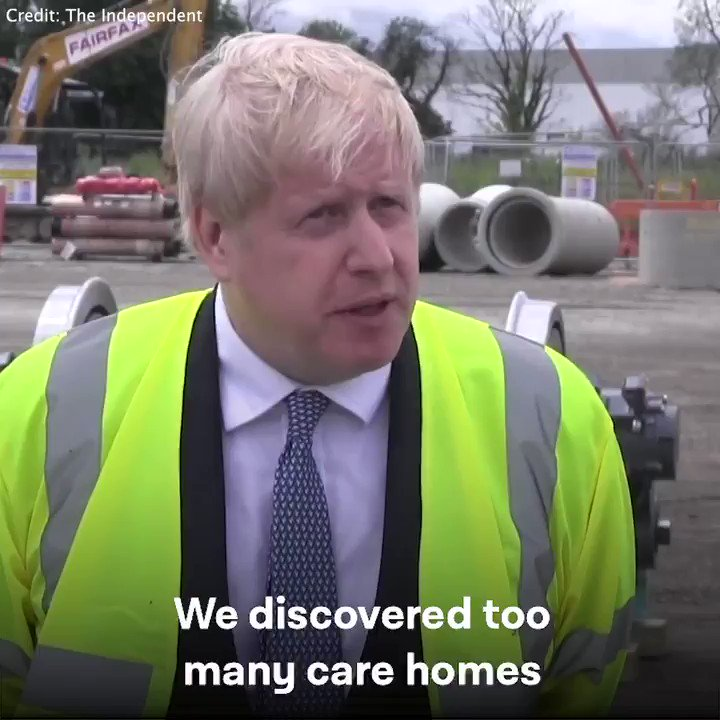 At least 20,000 people have died from Covid-19 in care homes. Residents went without tests. Staff were left without PPE. And all after a decade of cuts to social care. Shameful of Boris Johnson for trying to blame others for his governments failures.