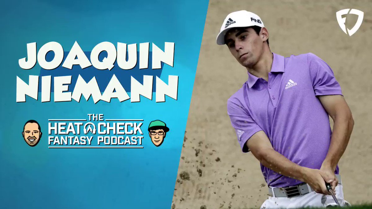 Should you buy into Joaquin Niemann for PGA DFS this weekend? @JimSannes and @Gdula13 discuss some of the reasons why you should think about targeting Niemann 🎯 🎧 The Heat Check: apple.co/30J3PPi @FanDuelPodcasts