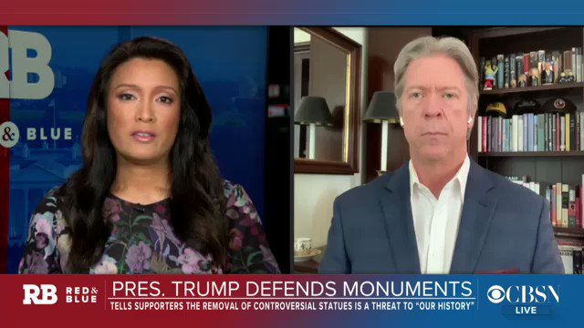 Image for the Tweet beginning: .@MajorCBS reports that top Trump