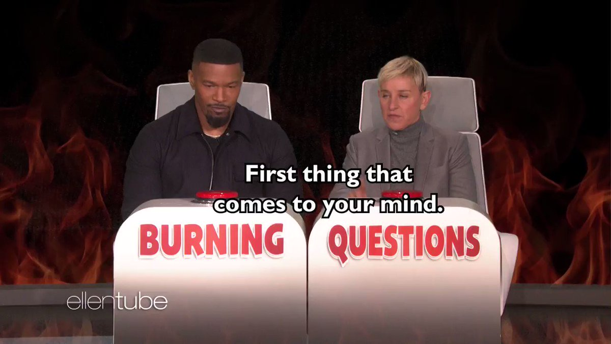 .@IamJamieFoxx's answers to my #BurningQuestions were HOTT. https://t.co/Xnv8BCSROf