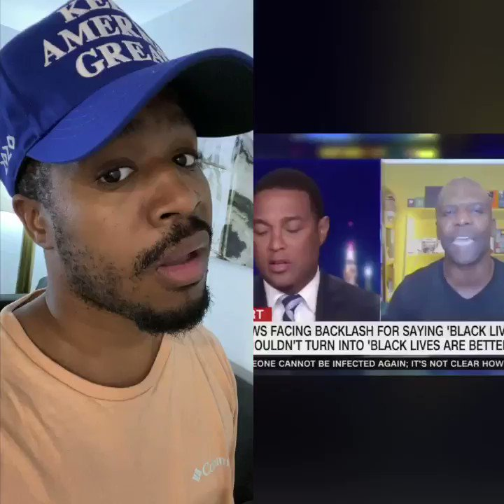 DUMBEST MAN ON TV Don Lemon is a joke! He didn't let Terry Crews get a word out. Don Lemon said #BlackLivesMatter only when blacks are killed by whites. He don't care about those young people in Chicago WHO ELSE IS SICK OF DON LEMON & BLM