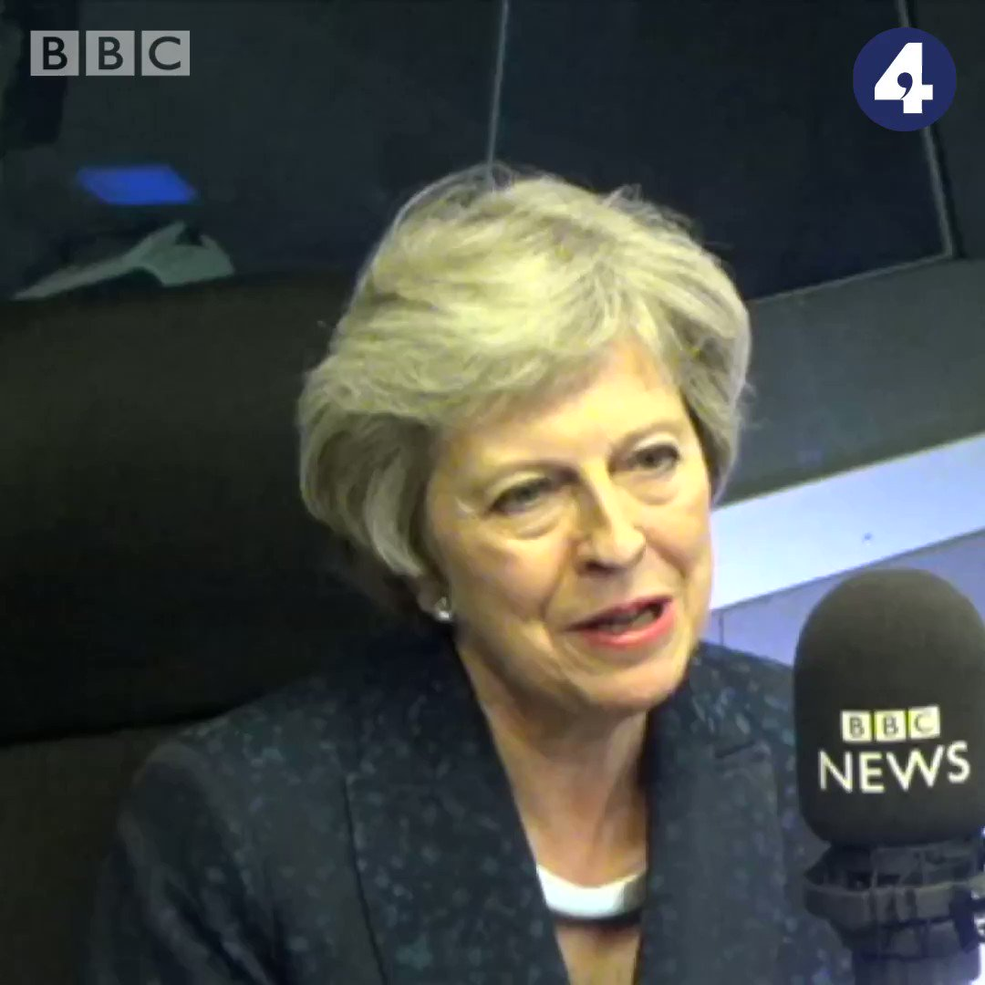 If youre a victim of domestic abuse, work is your safe place and being at home is not Former Prime Minister @theresa_may tells #bbcwato and says employers need to think about that bbc.in/2Djhepm | @Sarah_Montague