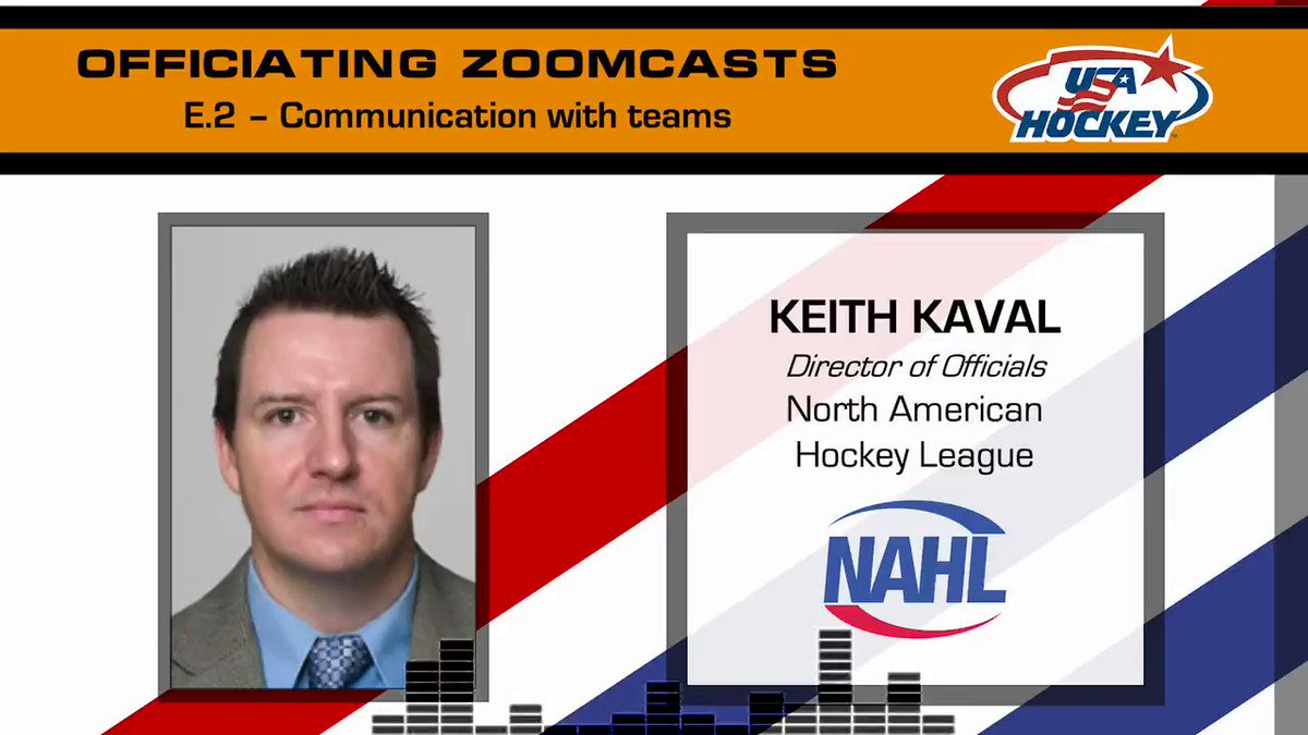 🗣 Communication is an important skill that all officials must developto be successful while managing games. Check out @USAHOfficiating's ZoomCast series! → youtu.be/LKalFPArxNk