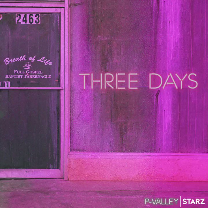 Replying to @PValleySTARZ: Big blessings arrivin' in 3 DAYS. #PValley premieres Sunday on @STARZ.