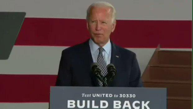 "Image for the Tweet beginning: Joe Biden: ""We're all created"