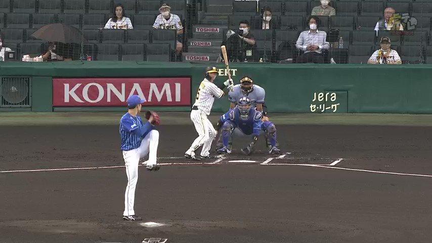 先頭打者ホームランでお返し!近本、先頭打者ホームランで同点!!! #hanshin #虎テレ #阪神タイガース
