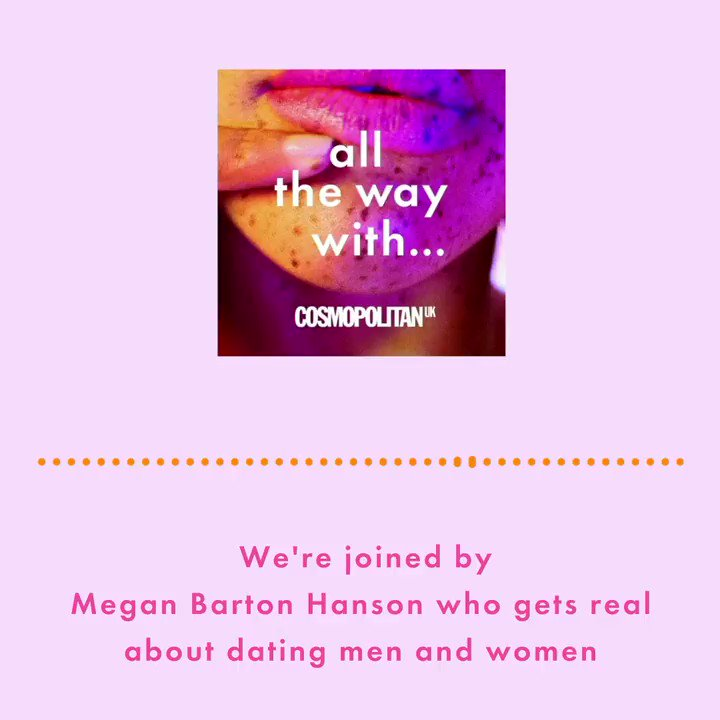 A new episode of our podcast, Cosmopolitans #AllTheWayWith, is here! This week, were joined by Love Islands Megan Barton Hanson who shares the intimate details of her love and sex life. Click here to listen: trib.al/ENycF4t