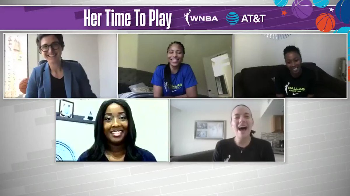 Defy The Odds‼️   @LASparks @swiesebaby24 knows that in life there are obstacles, but she sees them as opportunities to better herself and propel her forward.   Listen to more from Sydney in the #HerTimeToPlay Community Conversation pres. by @ATT!