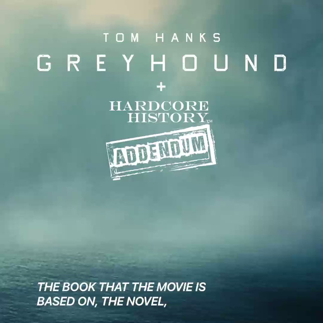 #GreyhoundMovie star @TomHanks joins @HardcoreHistory to dive deep into the unknown stories of WWII. Listen here: