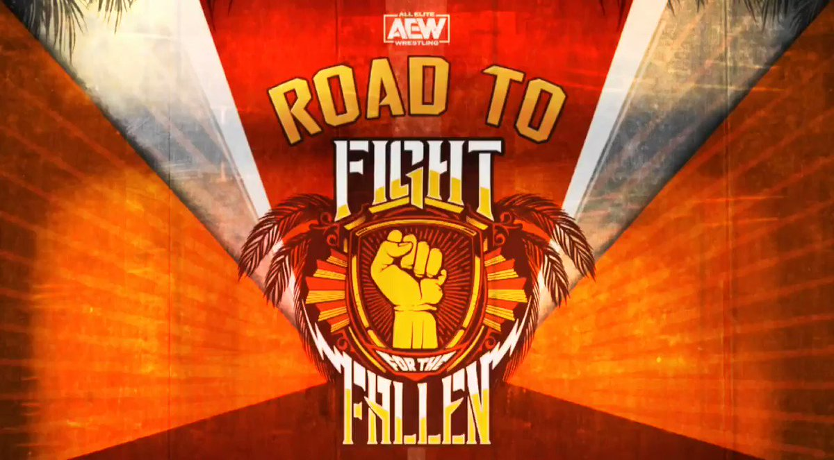 Road to Fight for the Fallen will premiere via our Official YouTube Channel on Monday at 7e/6c as we break down your entire match card. Subscribe to our channel via the link ➡️ youtube.com/AllEliteWrestl…