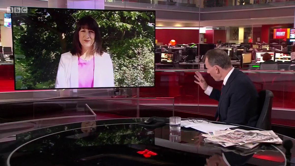Compulsory face masks in England would be a sensible way forward says Shadow Cabinet Office Minister Rachel Reeves #Marr #Covid_19 bbc.in/3encUCg