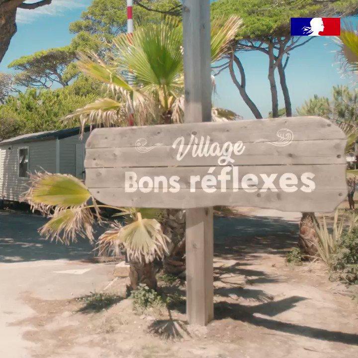 [#BonÉtéBonsRéflexes] Passons un bon été avec les bons réflexes, ensemble continuons d'appliquer les #GestesBarrières. https://t.co/gDZ3EDfXAw