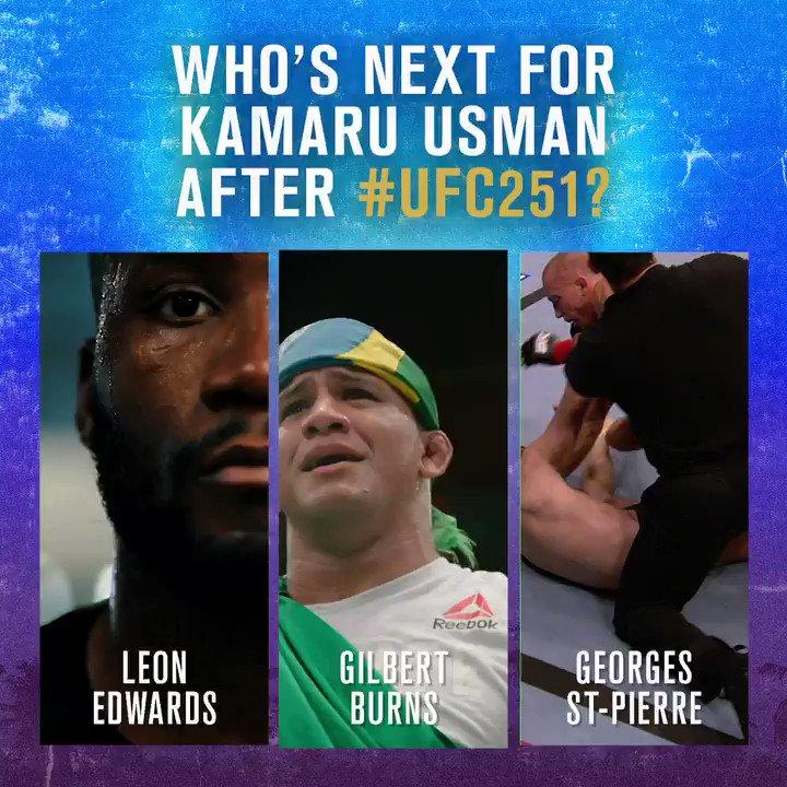 Who deserves the next shot at @Usman84kg's throne? 👑  #UFC251 #InAbuDhabi @VisitAbuDhabi https://t.co/weT8ELieDw