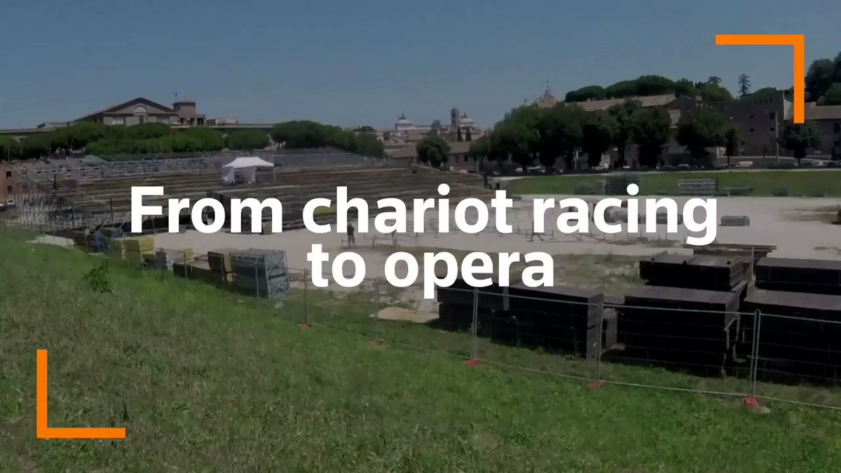 Rome's Circus Maximus, one of the ancient world's biggest public entertainment venues that held chariot races, is set to begin a new season as an opera house https://t.co/Rxmklg6PIX https://t.co/EsDhRmMs5w