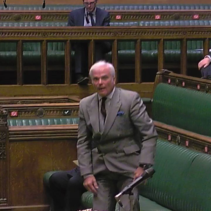 """Nothing would make me less likely to go shopping than the thought of having to mask up.""  Conservative MP Sir Desmond Swayne calls the government's decision on wearing face coverings in shops in England a ""monstrous imposition""."