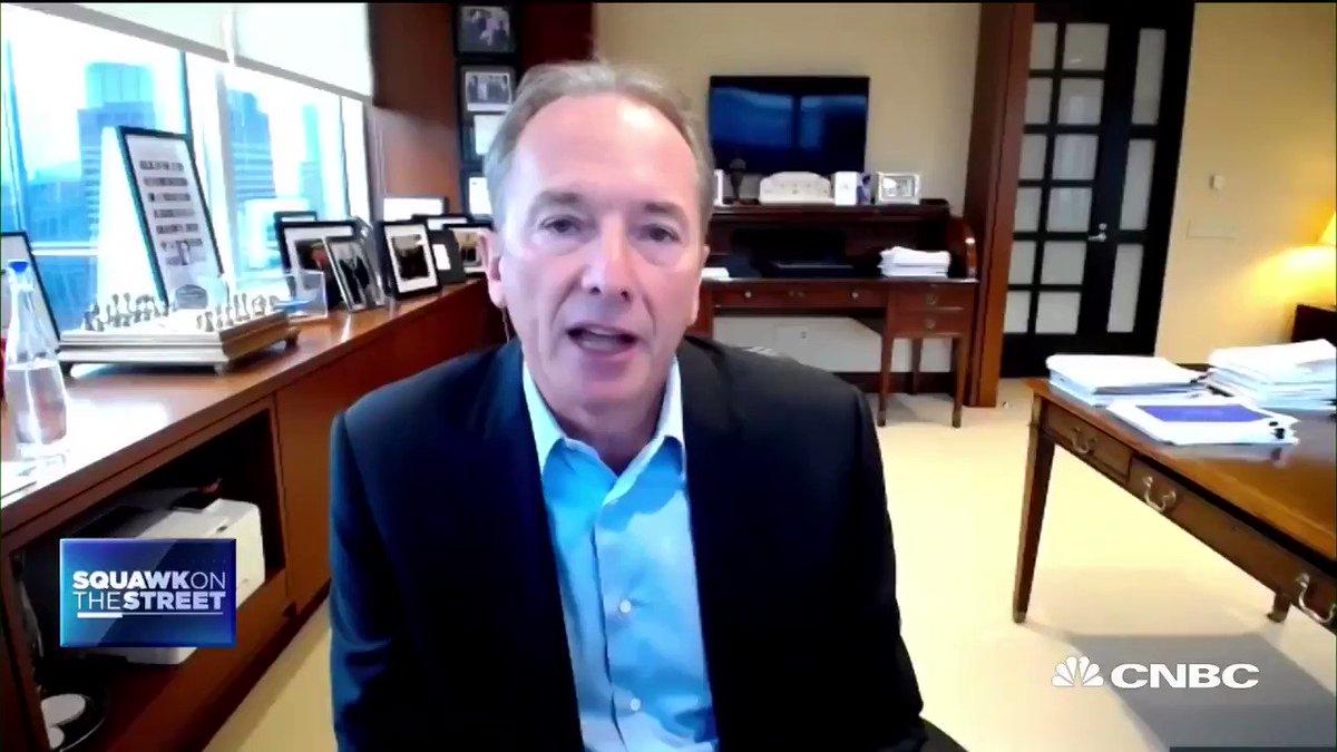 Image for the Tweet beginning: Morgan Stanley CEO James Gorman