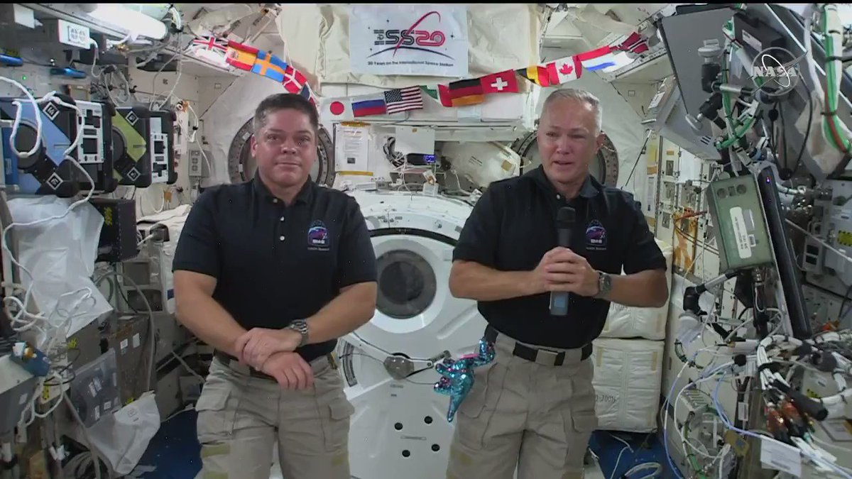 Start the countdown! 🗓️ Only 10 days remain until @AstroBehnken and @Astro_Doug are scheduled to make the first crewed splashdown in 45 years. 👨🚀👨🚀 Listen as Hurley shares his full confidence in their safe return. go.nasa.gov/2CMjq8u