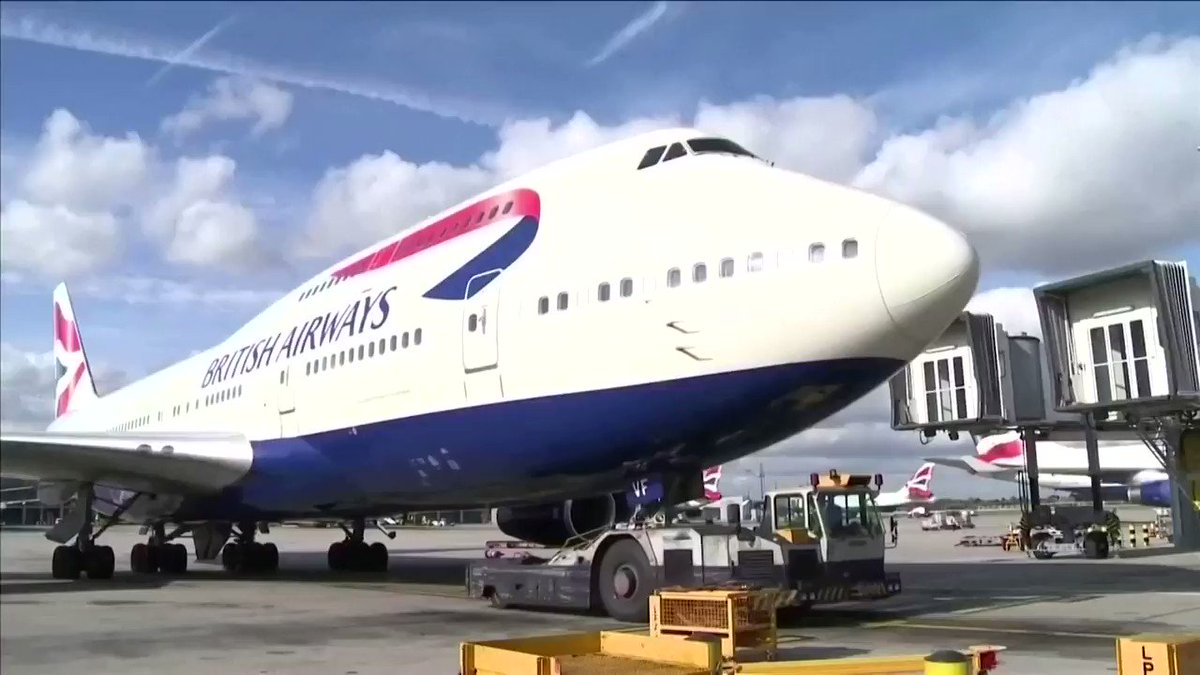 WATCH: British Airways is cutting its capacity to prepare for years of weak demand for air travel https://t.co/P2iuU029mr https://t.co/DjTiBOVgnX