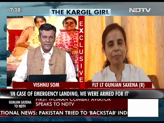 Ndtv On Twitter Watch Sunk Into Me Much Later That I Was The Only Woman There Flight Lt Gunjan Saxena Kargil War Veteran Kargilvijaydiwas Ndtvexclusive Https T Co Ht1r6kxk34