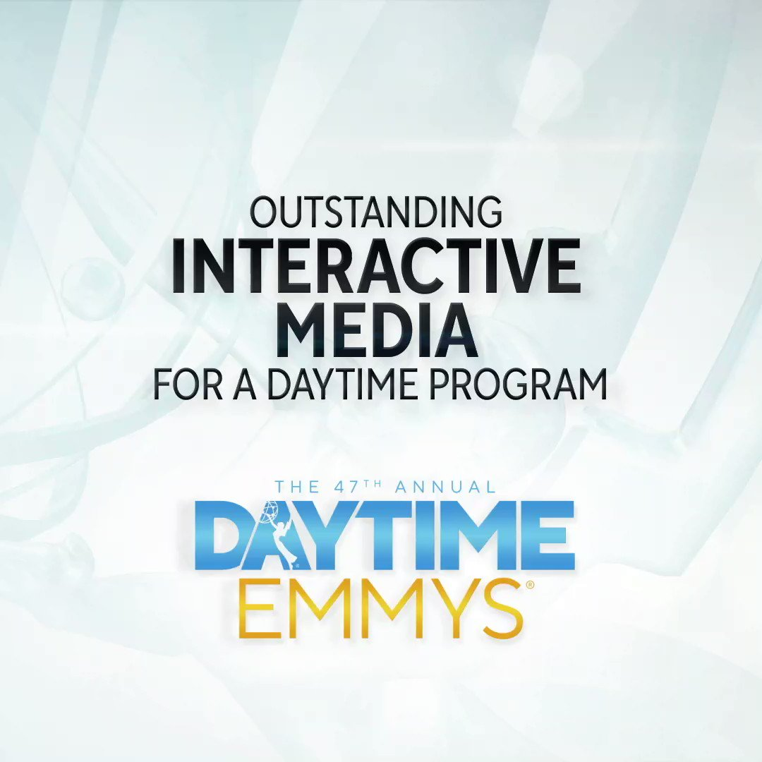 The #DaytimeEmmys Award in Outstanding Interactive Media for a Daytime Program goes to... Jeopardy │ @Jeopardy