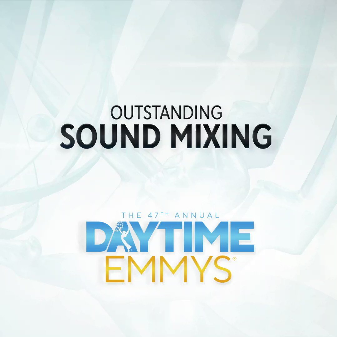 The #DaytimeEmmys Award in Outstanding Sound Mixing goes to... Articulate with Jim Cotter │ @pbs @ArticulateShow