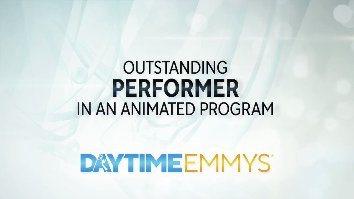The #DaytimeEmmys Award in Performer in an Animated Program goes to... Tom Kenny │ @Spongebob @Nickelodeon