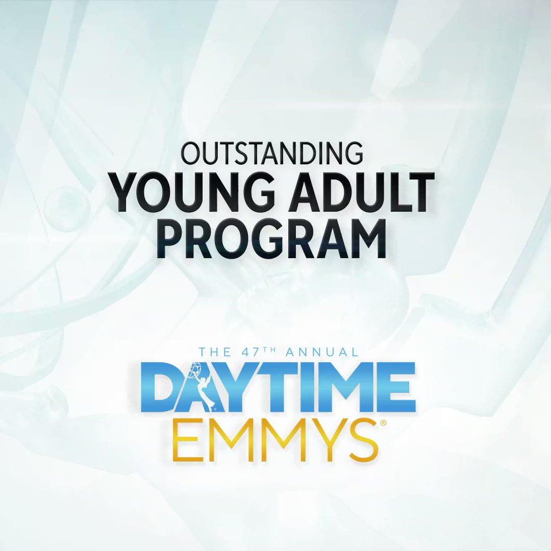 The #DaytimeEmmys Award for Young Adult Program goes to... Trinkets │ @TrinketsNetflix @Netflix