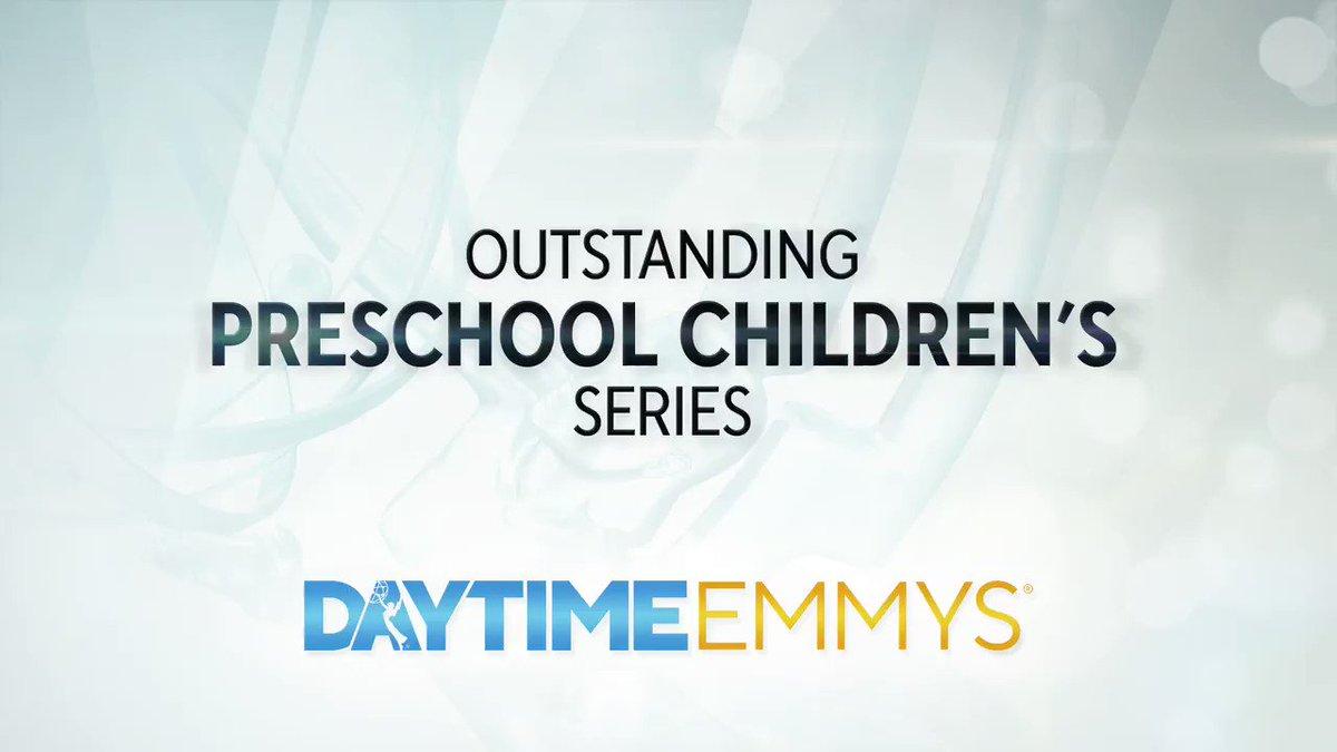 The #DaytimeEmmys Award in Preschool Children's Series goes to... Sesame Street │ @SesameStreet @HBO